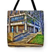 Morning Before Business Tote Bag by Stephen Younts
