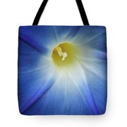 Morning Blue Tote Bag