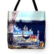 Morning Blooms Tote Bag
