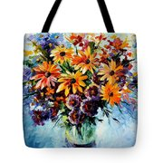 Morning Bouquet Tote Bag