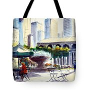 Morning, Bryant Park  Tote Bag