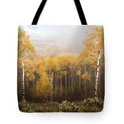 Morning Burn Tote Bag
