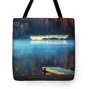 Morning Burn Off  Tote Bag