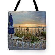 Morning By The Bay Tote Bag