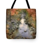 Morning By The Creek Tote Bag