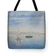 'morning Calm' - West Kirby Marine Lake Tote Bag