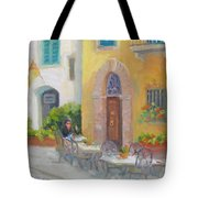 Morning Cappuccino Tote Bag