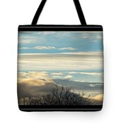 Morning Clouds Tote Bag