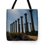 Morning Column Light Tote Bag