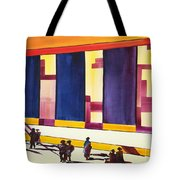 Morning Commute Cle Tote Bag