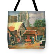 Morning Conference Tote Bag