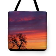 Morning Country Sky Tote Bag