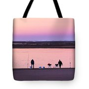 Morning Crab Fishing Tote Bag