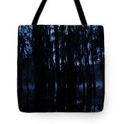 Morning Cypress Mist Tote Bag