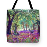 Morning Dew Tote Bag by Jane Small