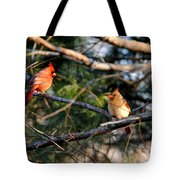 Morning Discussion Tote Bag