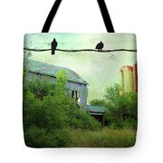 Morning Doves Tote Bag