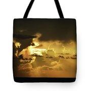 Morning Drama Tote Bag