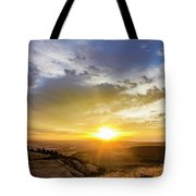 Morning Earth Rotation Tote Bag
