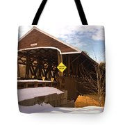 Morning Finds The Rowell Bridge Tote Bag