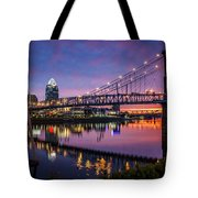 Morning Fire Tote Bag
