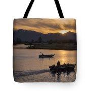 Morning Fishing 4 Tote Bag