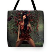 Morning Floral Tote Bag