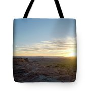 Morning Formations Tote Bag
