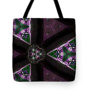 Morning Glory Through A Kalaidascope  Tote Bag
