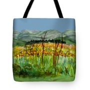 Morning In Backyard At Barton Tote Bag