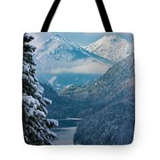 Morning In Bavaria Tote Bag