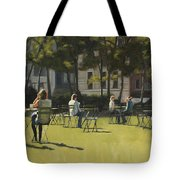 Morning In Bryant Park Two Tote Bag