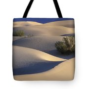 Morning In Death Valley Dunes Tote Bag