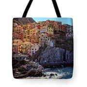 Morning In Manarola Cinque Terre Italy Tote Bag