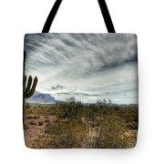 Morning In The Desert Tote Bag