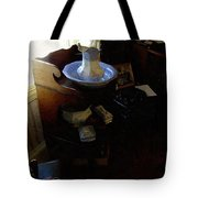 Morning In The Study Tote Bag