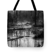 Morning In The Swamp Tote Bag