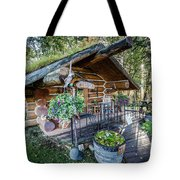 Morning In The Woods Tote Bag