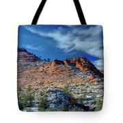 Morning In Zion Tote Bag