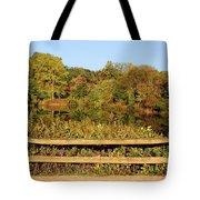 Morning Landscape In The Park Tote Bag