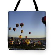 Morning Liftoff Tote Bag