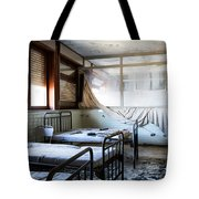 Morning Light After Nightmare - Urban Exploration Tote Bag