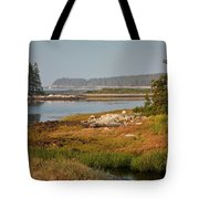 Morning Light At Schoodic  Tote Bag