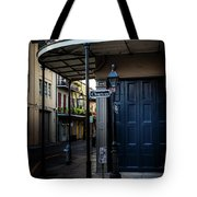 Morning Light In The French Quarter Tote Bag