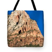 Morning Light In Zion Canyon Tote Bag