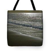 Morning Light On Sandown Beach Tote Bag