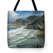 Morning Lighthouse Tote Bag