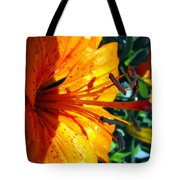 Morning Lily Tote Bag