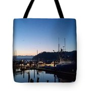Morning Lines Tote Bag