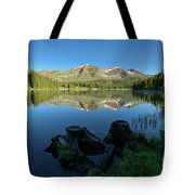 Morning Meditation - Lake Irwin Tote Bag